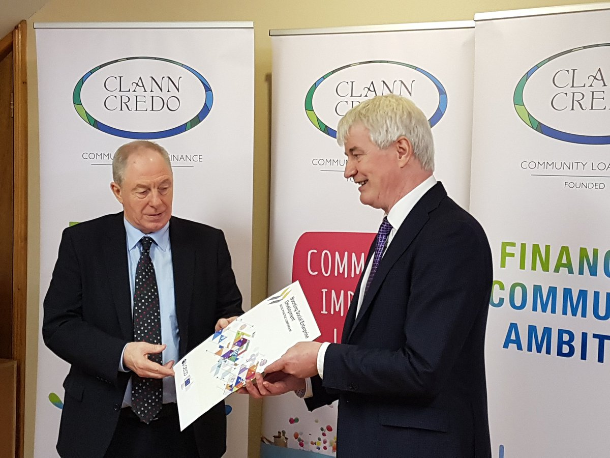 New OECD report lauds Clann Credo for community funding efforts